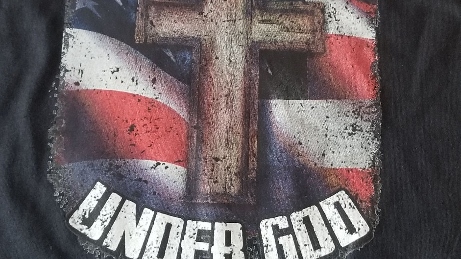 One nation under God shirt 🇺🇲