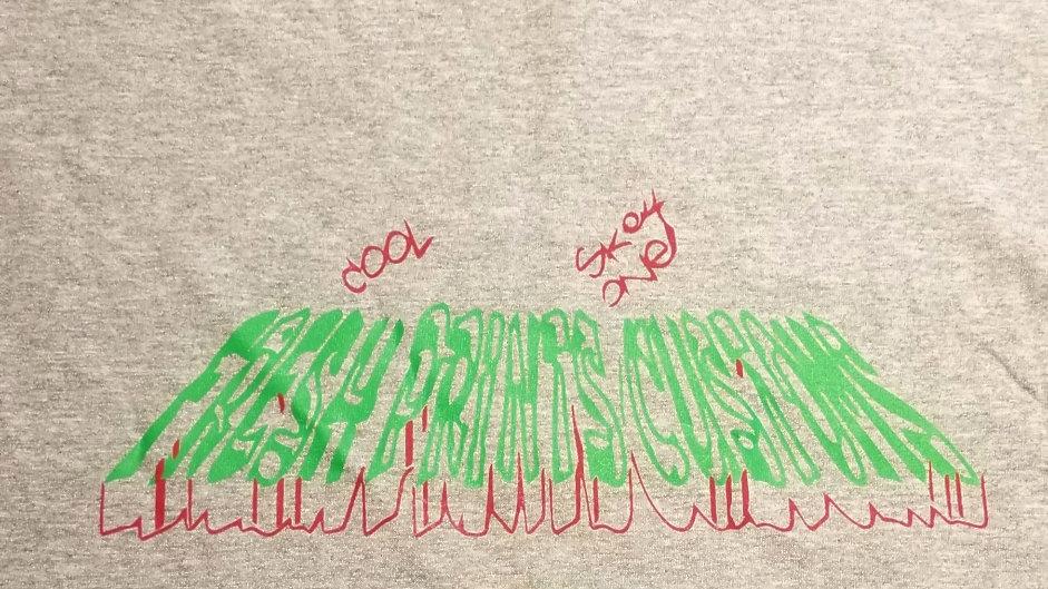 Fresh Prints Customs official graffiti logo shirt (any color combo)