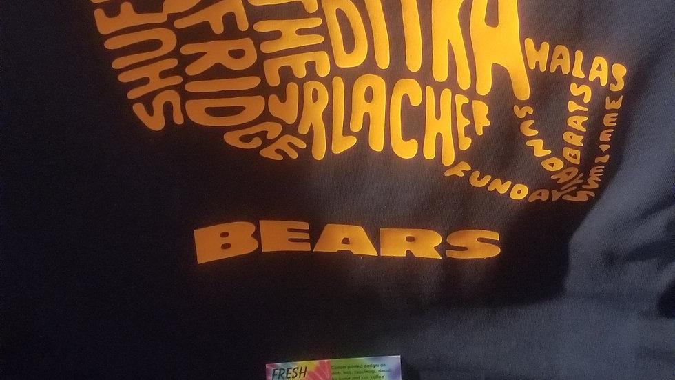 Bears helmet shirt