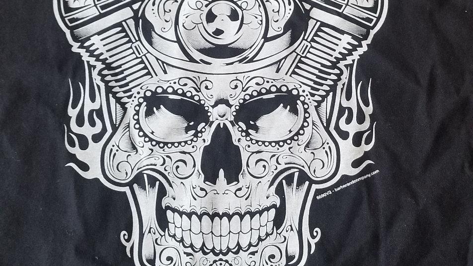 Skull motor shirt! ⚙️