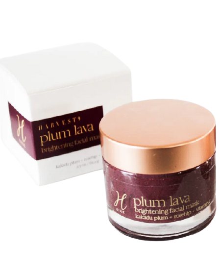 Harvest 9 Plum Lava Brightening Facial Mask