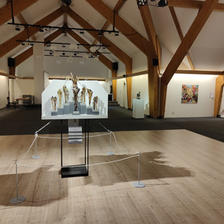 Kunstaustellung des Allschwiler Kunstvereines 2021 im Mühlestall Allschwil