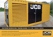 JCB Power Products Fix Mechanic Standby Emergency Power Diesel Wales Used Sets