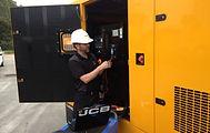 JCB Power Products Fix Mechanic Standby Emergency Power Diesel Wales