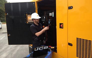 JCB Generator Install Installed Installer Dealer Supplier