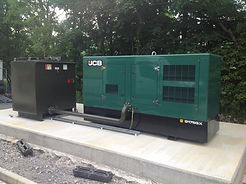 JCB Generator and Fuel Tank