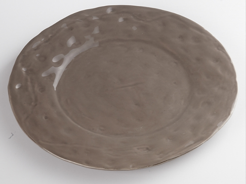 Assiette TAUPE