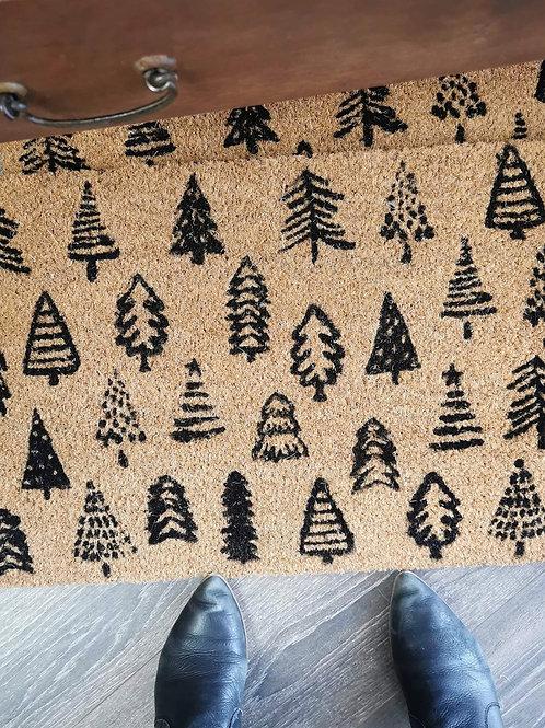 Paillasson «Forêt des fêtes»