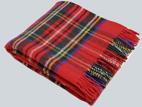 Couverture en laine TARTAN