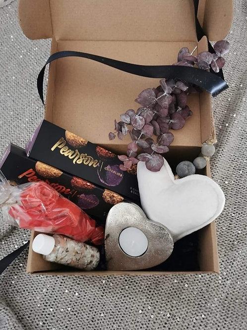 Boîte cadeaux «Velours crème»