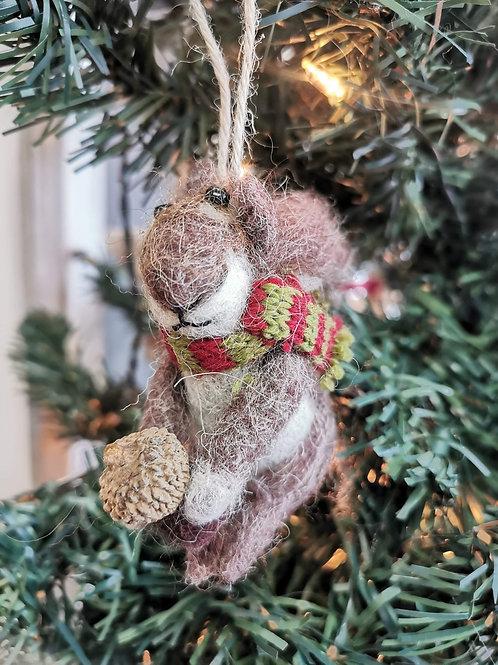 Le petit écureuil de Noël