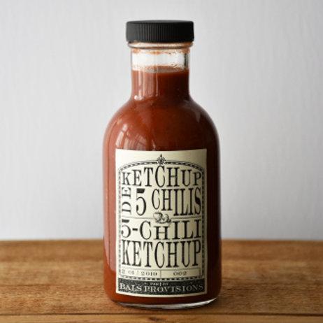 Ketchup 5 CHILIS
