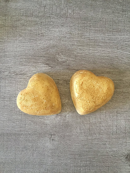 Gold Dusted Heart Soap