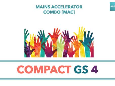 Mains Accelerator Combo [MAC] : Compact GS 4