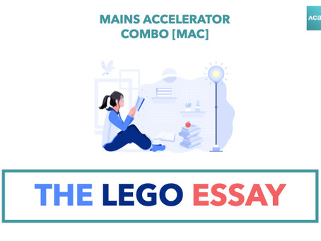Mains Accelerator Combo [MAC]: The Lego Essay