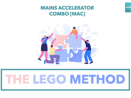 Mains Accelerator Combo [MAC]: The Lego Method