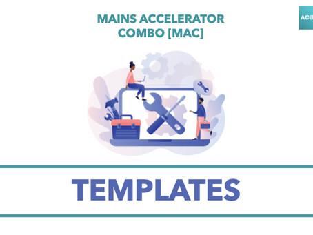 Mains Accelerator Combo [MAC]: Templates