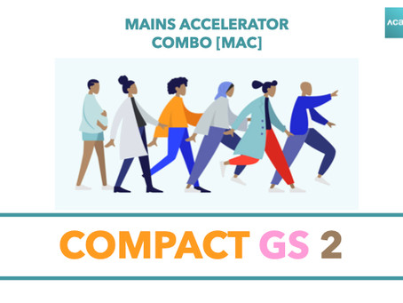 Mains Accelerator Course [MAC] : Compact GS 2