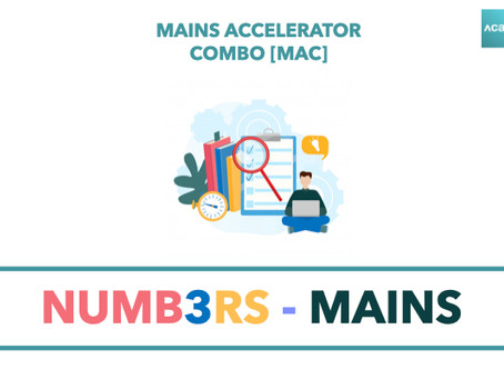 Mains Accelerator Combo [MAC] : NUMB3RS Mains
