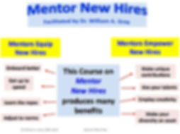 Mentor New Hires Benefits