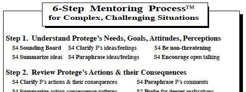6-Step Mentoring Process