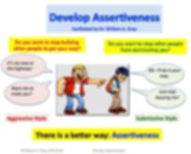 Develop Assertiveness