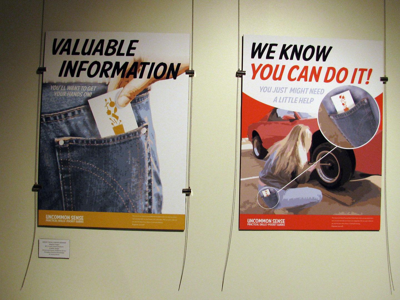 """Uncommon Sense"" Posters"