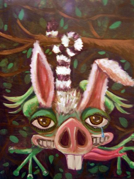 """Frog, Lemur, Rabbit"""