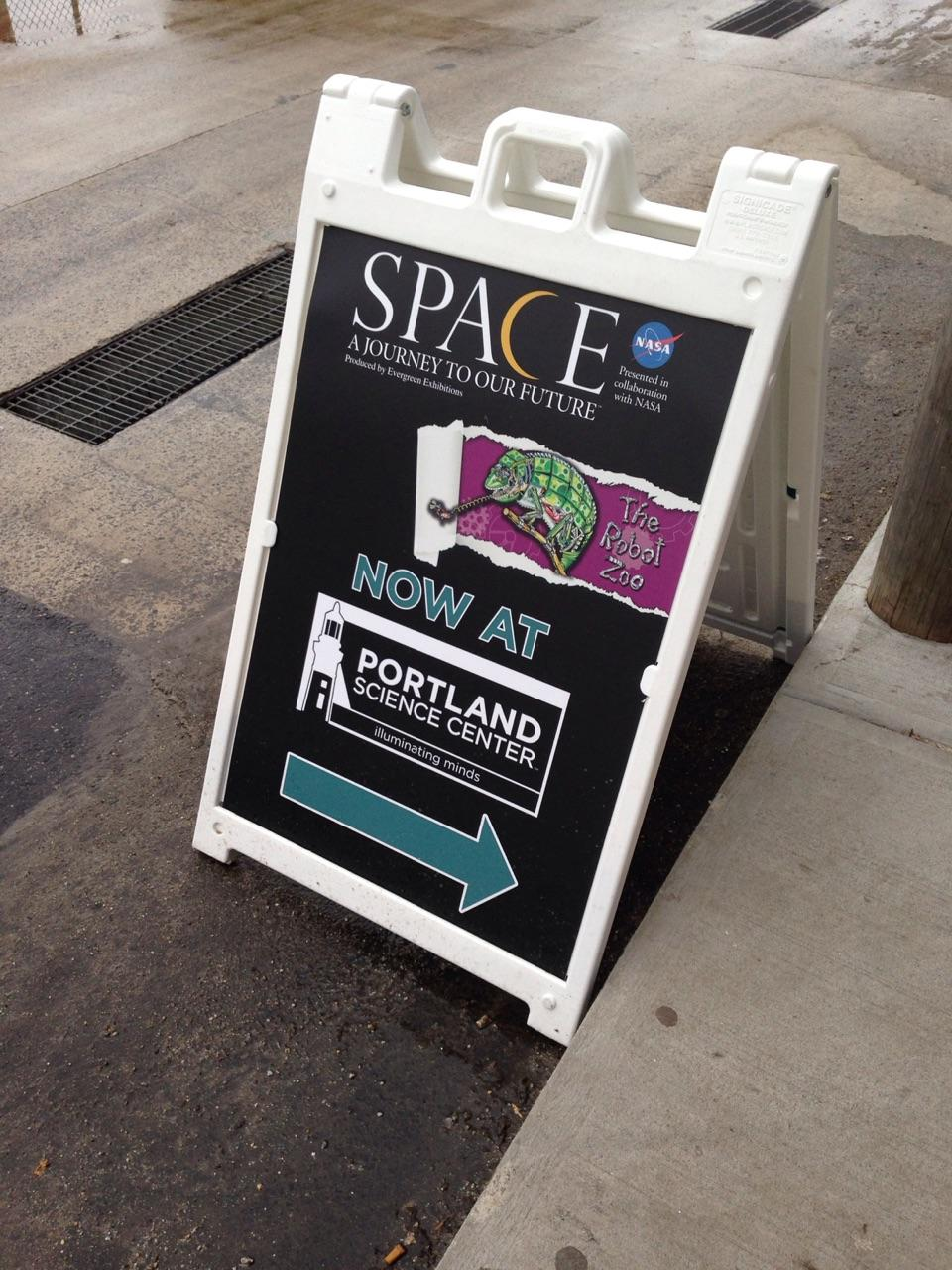 SPACE & Zoo Way-finding