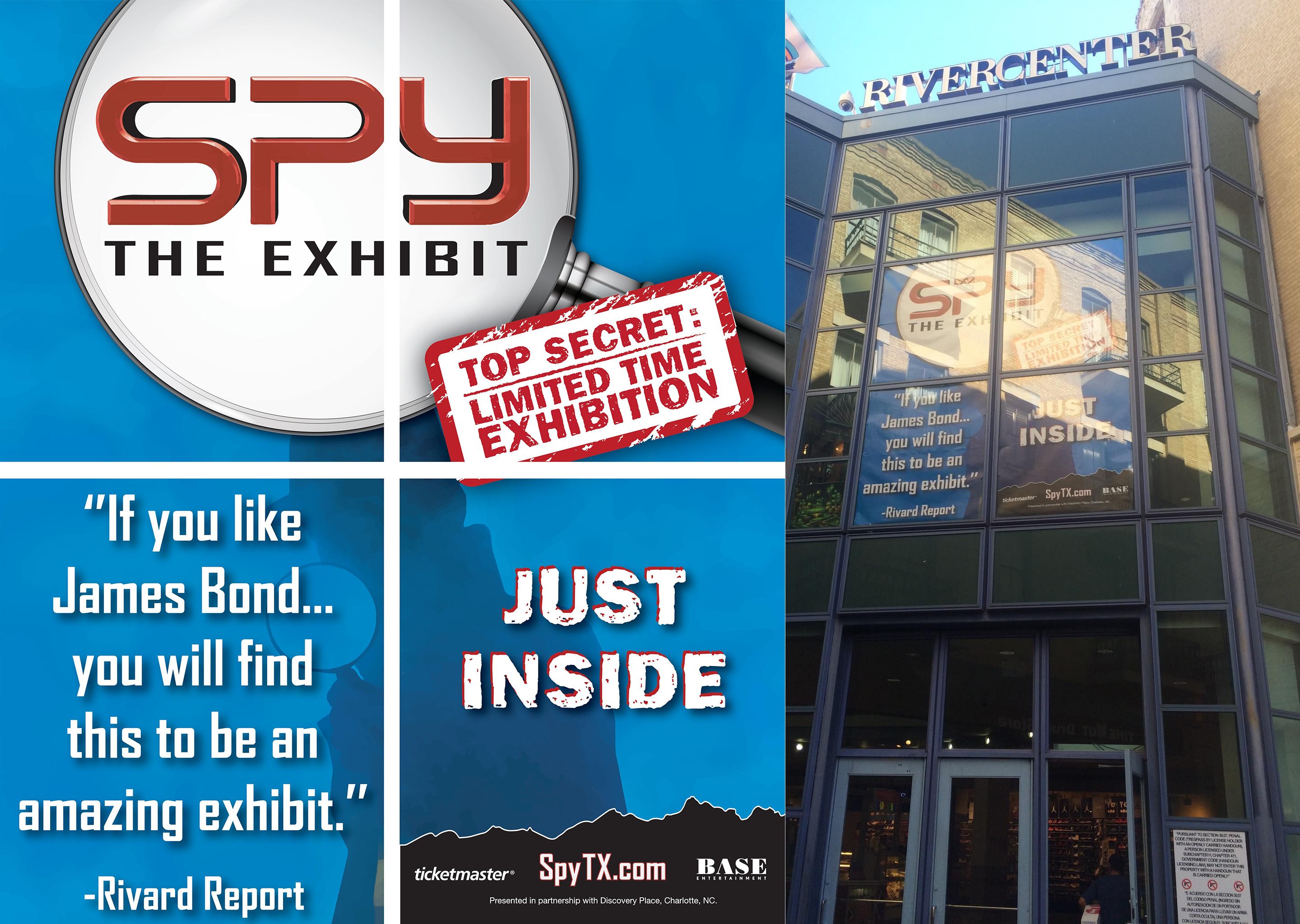 SPY: The Exhibit Blum Street