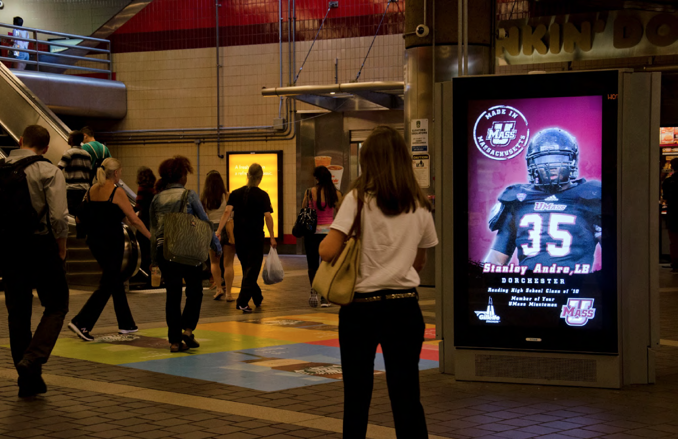 UMass Football MBTA Digital