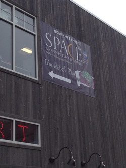 SPACE & Zoo Banner