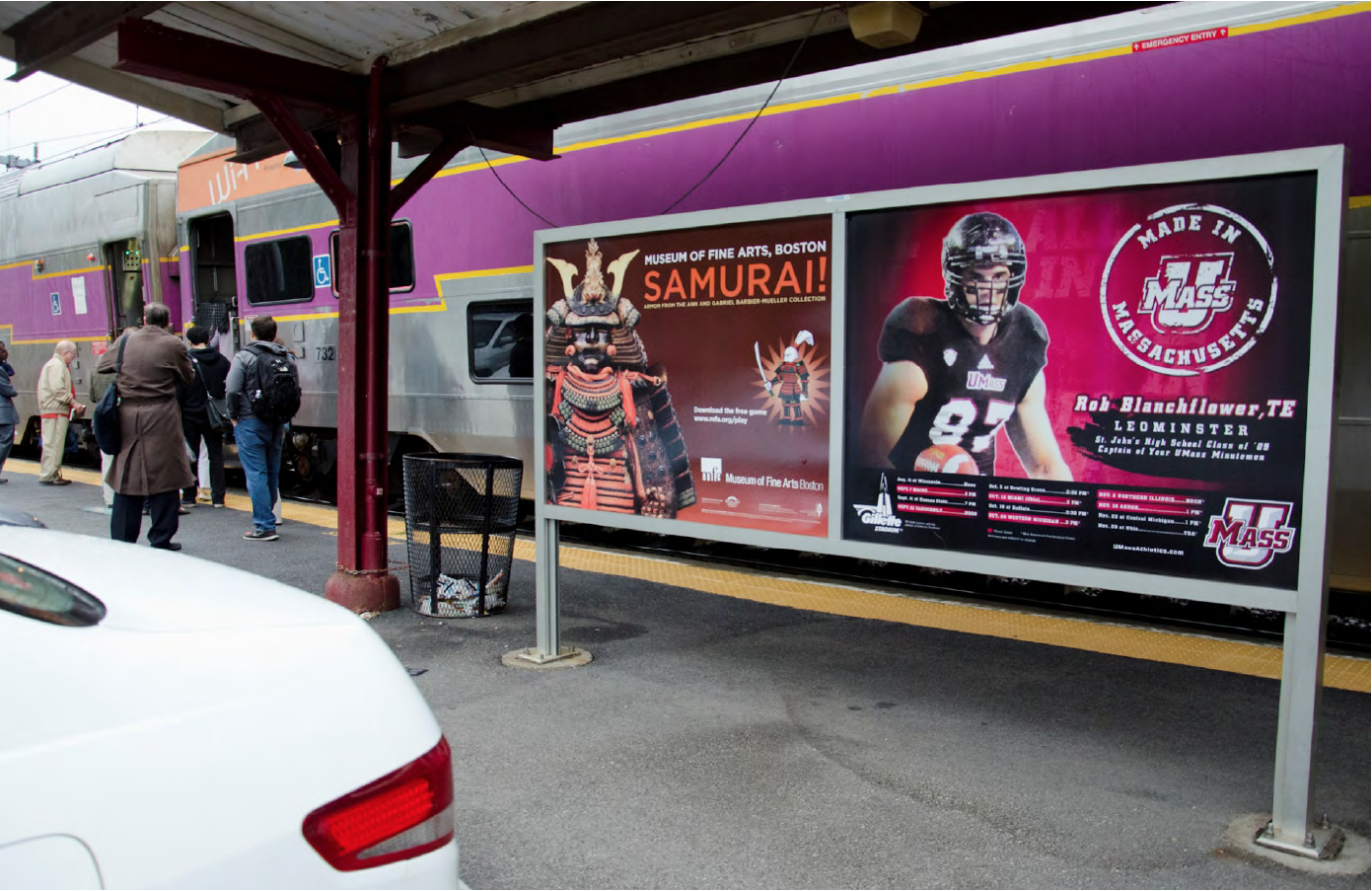 UMass Football MBTA