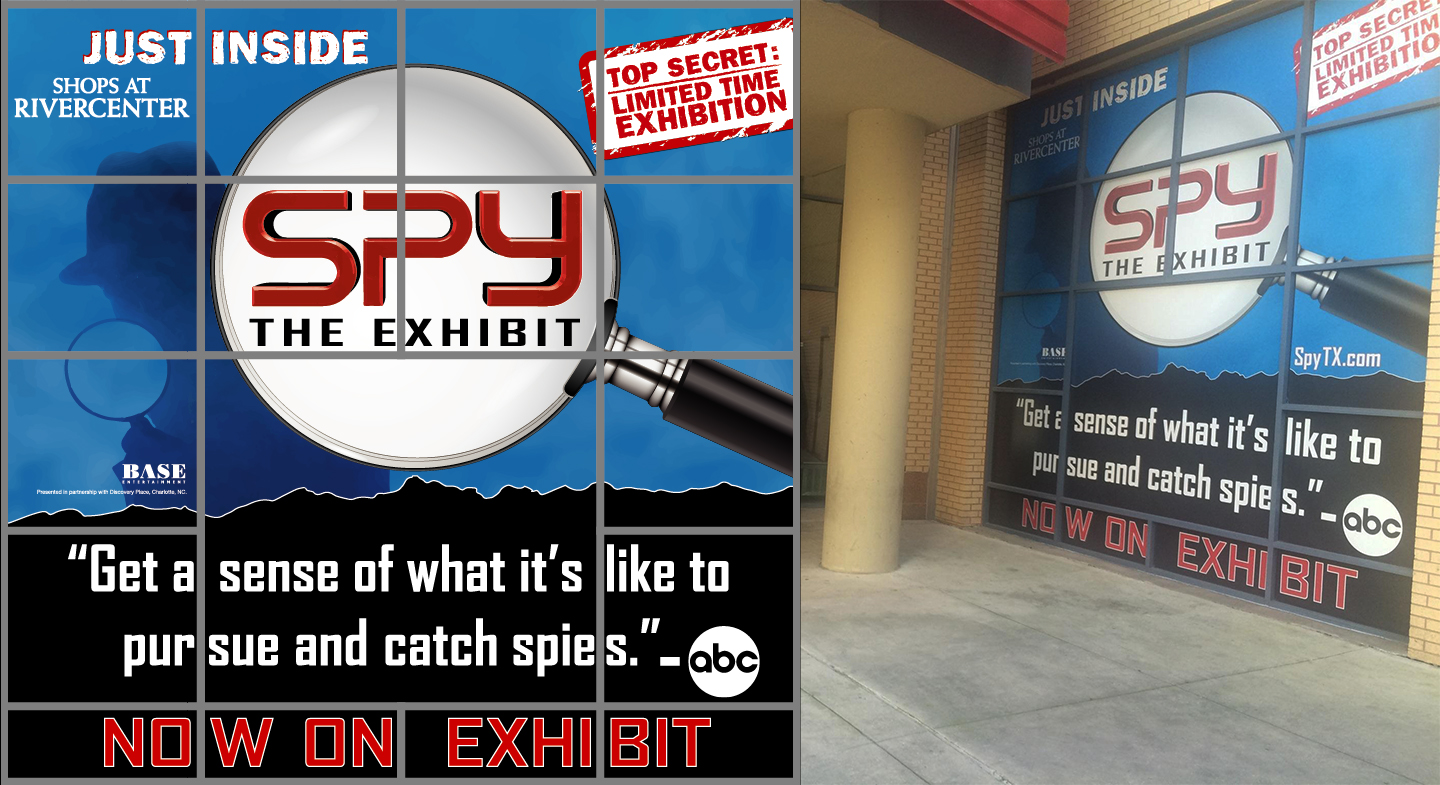SPY: The Exhibit Crockett Street