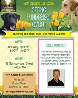 Spring Fundraiser Flyer