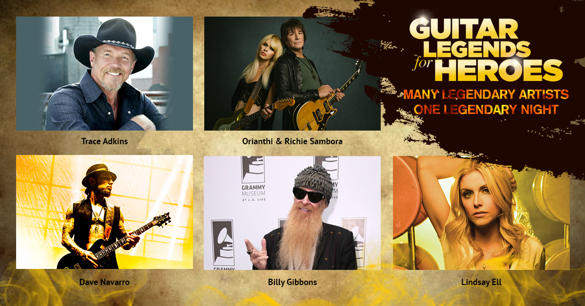 Guitar Legends for Heroes