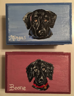 Custom Dog Jewelry Boxes
