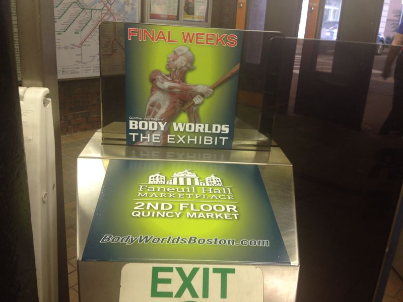 Body Worlds Vital Turnstile
