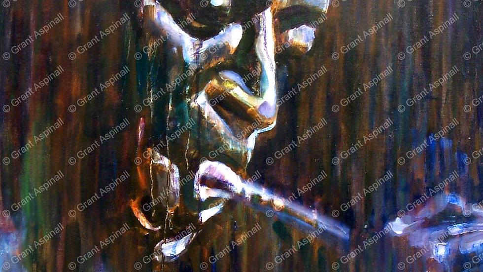 Miles Davis (Portrait No. 2)