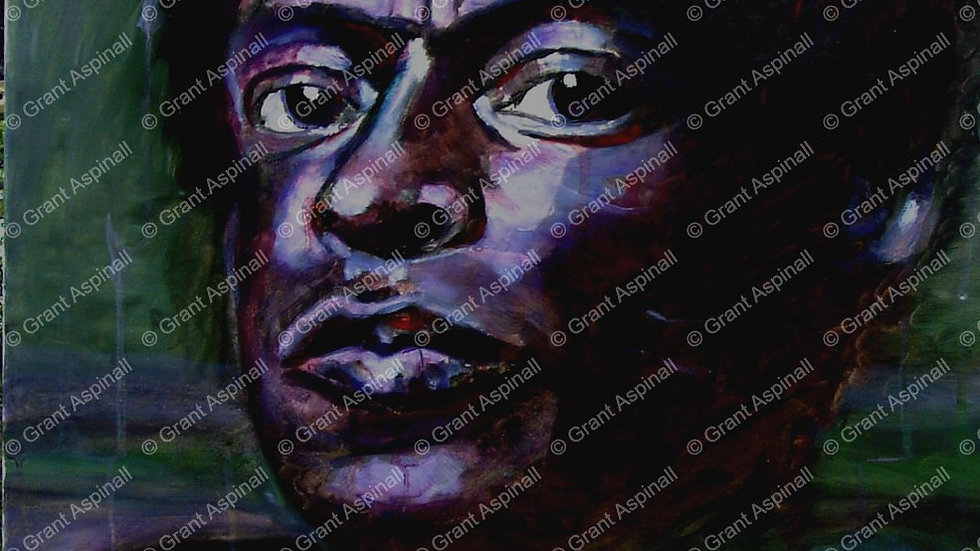 Miles Davis (Portrait No.3)