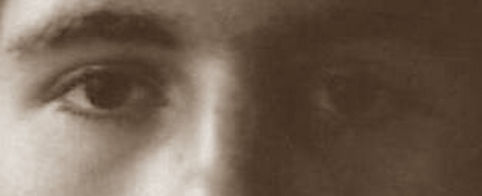 These are the eyes of a very famous music artist.