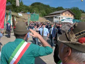 Foto dell'undicesimo raduno al Passo del Cirone