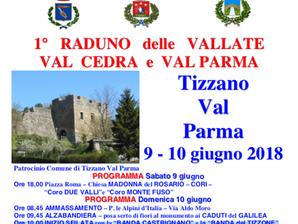 La Val Cedra e la Val Parma sono in festa