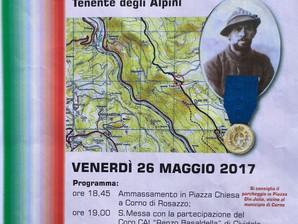 Commemorazione del centenario della morte di Paolo Racagni a Corno di Rozzano