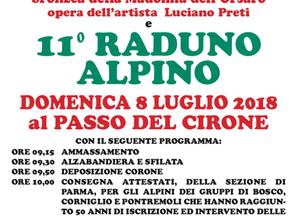 11° raduno Alpino al passo del Cirone