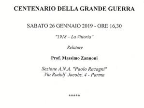 I Professori Massimo Zannoni e Alessandro Duce parlano della Grande Guerra