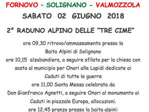 """2°raduno alpino delle """"tre cime"""" Fornovo Solignano Valmozzola"""