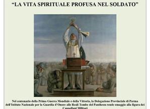 """Conferenza """" La vita spirituale profusa nel soldato"""" Sabato 15 a Albareto"""