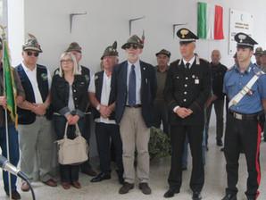 Una targa al Partigiano-Alpino Rolando Vignali