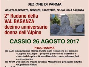 Cassio: 2° raduno della Val Baganza